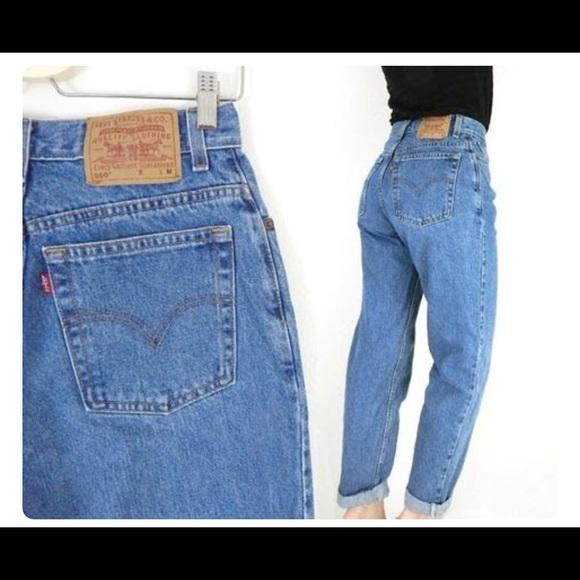 96219769 Levi's Jeans | Vintage Levis 550 High Waist Tapered Mom | Poshmark